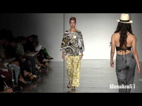 Manuheali'i Fashion Show at HONOLULU Fashion Week