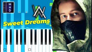 Alan Walker - Sweet Dreams - Piano Tutorial видео