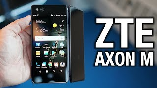 ZTE Axon M Hands-on: Look ma, two screens!