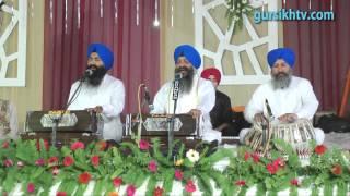 Bhai Ravinder Singh ji (Hazoori Ragi Shri Darbar Sahib) at Shri Guru Ram Dass Jatha JAL,19-10-13