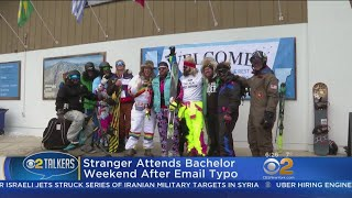 Stranger Crashes Bachelor Party