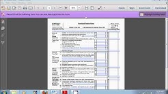 How to Itemize Your Deductions With a Schedule A Form