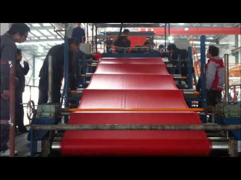 Pu Leather manufacturing
