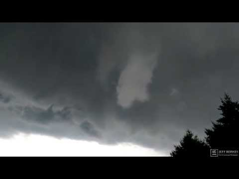 Funnel Cloud Directly OVER ME!!! | West Chester, Pennsylvania June 30th, 2015