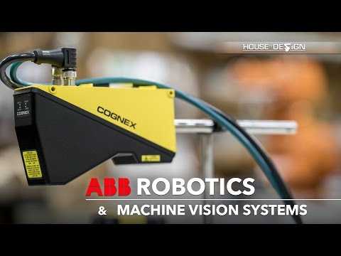 ABB Robotics and Cognex Machine Vision Systems integrator - House of Design Robotics