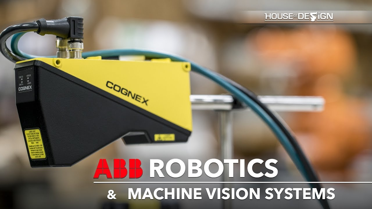 ABB Robotics and Cognex Machine Vision Systems integrator - House of Design  Robotics