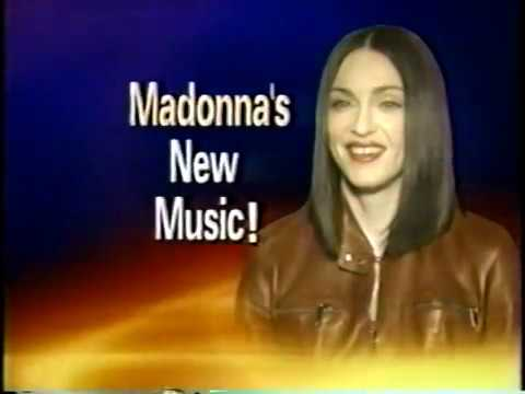 1999  Madonna 'Nothing Really Matters' Making of video  ET