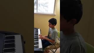 Saket Purani playing piano song Sweet betsy from Pike