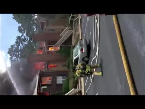 Raleigh apartment fire