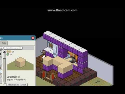 habbo comment faire une belle cuisine youtube. Black Bedroom Furniture Sets. Home Design Ideas