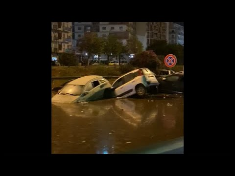 Heavy rains flood Sicilian city of Palermo