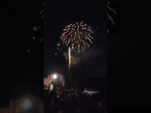 Statesville NC 2017 fireworkes