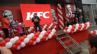 Открытие KFC в ТЦ Терра, часть 3 - Днепропетровск, 15.11.2014