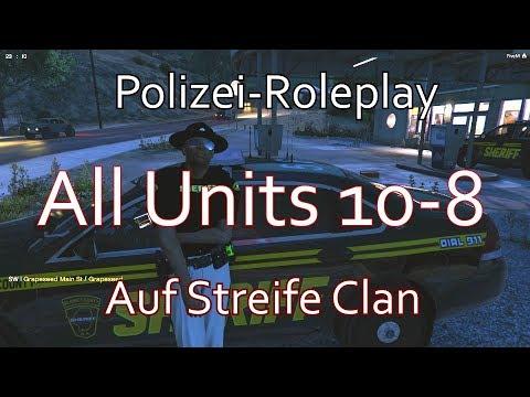 "Auf Streife: ""All Units 10-8"" | GTA 5 Police-Roleplay | (German/FullHD)"
