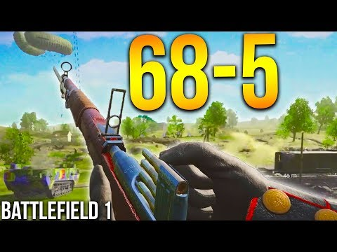 INSANE M95 CARBINE SNIPER BATTLEFIELD 1 Scout gameplay