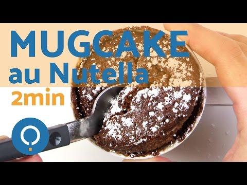recette-gourmande:-mug-cake-au-nutellla