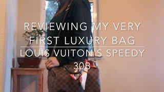 REVIEWING MY FIRST LUXURY BAG/…