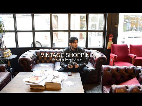 Vintage Shopping Ft. Seif-Ali Umaar