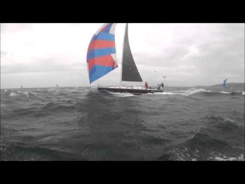 RTCC15 Round the County Catalina 36 high winds gale sailing fast boats windy November sailboats