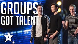 TOP 6 Vocal Groups From Americas Got Talent & Britain\'s Got Talent