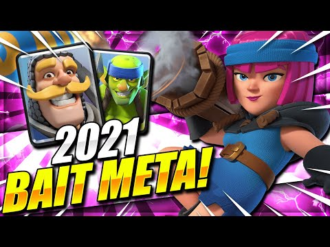 NEW 2021 BAIT META!! SUPER FAST 2.6 CYCLE DECK IN CLASH ROYALE!!