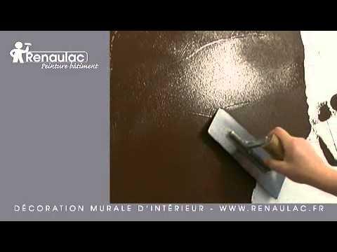 Application d 39 eveil des sens effet patine au chiffon - Peinture murale a effet ...