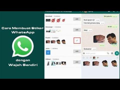 Cara Membuat Stiker Whatsapp Youtube