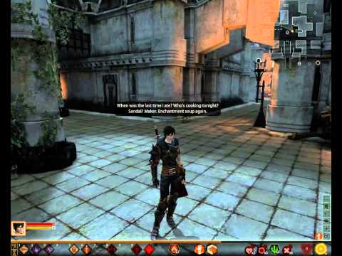 Dragon Age 2 - Hawke's hidden monologue.