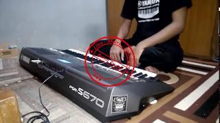Banyu Langit Sampling Yamaha PSR S670