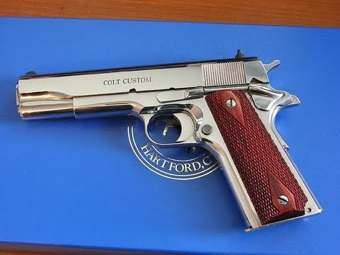 Colt CUSTOM 38 Super Series 80 1911 CUSTOM Super #O207...