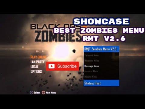 """BO2-Zombies """"RMT"""" Mod Menu Showcase"""