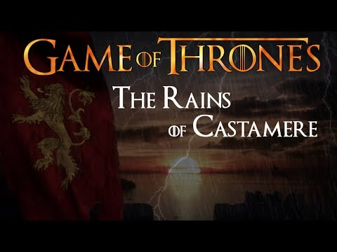 Game Of Thrones - The Rains Of Castamere (extended epic haunting instrumental version)