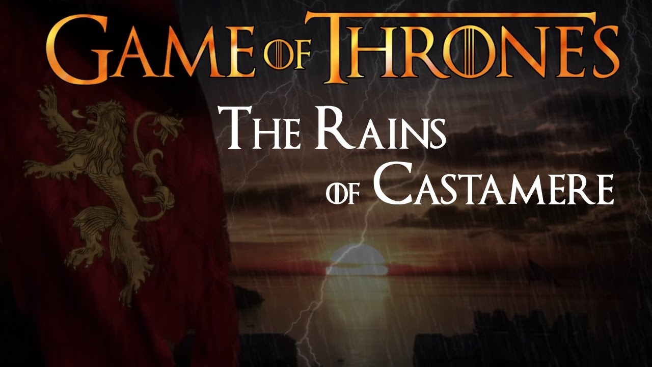 rains of castamere