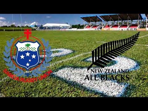 Rugby Challenge 2 - Samoa vs New Zealand