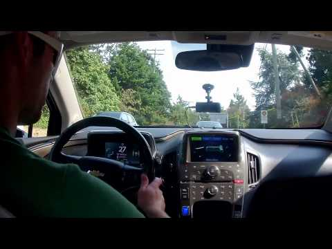 EV Ramblings - Chevrolet Volt Gas Electric / Range Extended Mode - The Switch