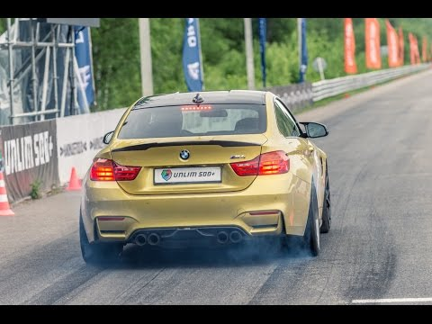 BMW M4 vs Audi RS7 vs Mercedes C63 AMG