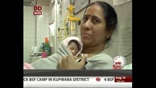 Steps taken to provide Aadhaar cards for newborns