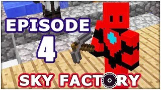 MINECRAFT SKYFACTORY - Episode 4 - Monster Attack!