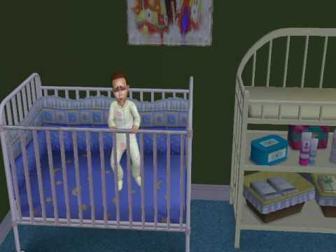 Sims 2 Toddler Breaks Out Of Crib To Go Play With Toilet