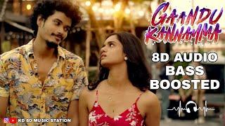 Gaandu Kannamma ❣️ | 8D Song 🎧 | Vivek - mervin | Ku Karthik | Tamil Album Song