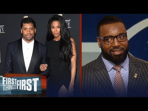 Chris Canty on rumors Russell Wilson wants out of Seattle for Giants | NFL | FIRST THINGS FIRST
