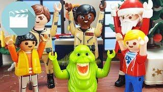 Playmobil Ghostbusters Film   Weihnachtsfeier mit bösen Weihnachtsmann   Playmobil Film Deutsch