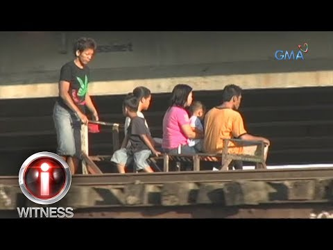 I-Witness: Residents of Brgy. Aklan, Manila make a living through trolleys in railroad tracks