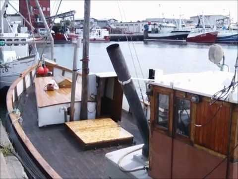 "Fishing vessel ""Havet"" - 55 HP hot bulb Hundested engine"