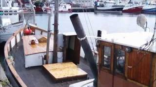 "Download Video Fishing vessel ""Havet"" - 55 HP hot bulb Hundested engine MP3 3GP MP4"