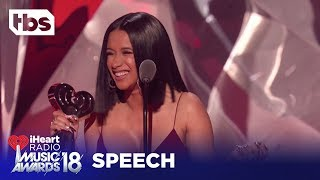 Cardi B: 2018 iHeartRadio Music Awards | Acceptance Speech | TBS thumbnail