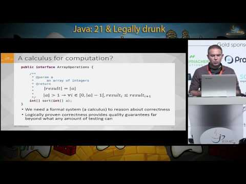An incremental approach to Formal Methods in enterprise Java applications - Teodor Parvanov