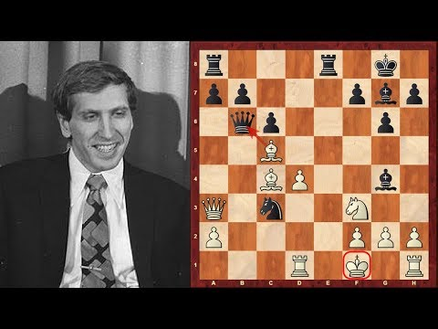 Bobby Fischer: Bobby Fischer's Top Eight Chess Sacrifices of all time!