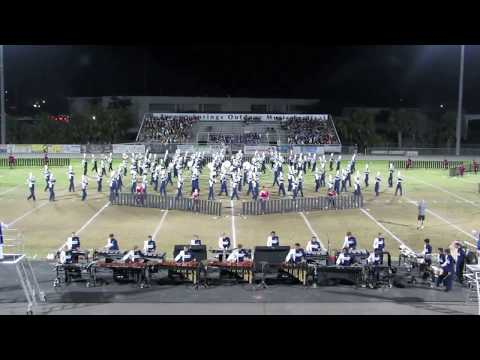 Marching Cowboys of Gaither HS @ 2017 Tarpon Springs Outdoor Music Festival - part1