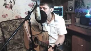 """Песни под гитару """"Дождь падают капли"""" (Cover)"""